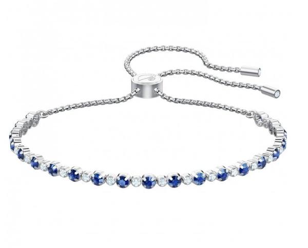 Sublte Bracelet with Sapphire Blue