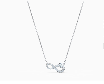 Infinity and Heart Necklace